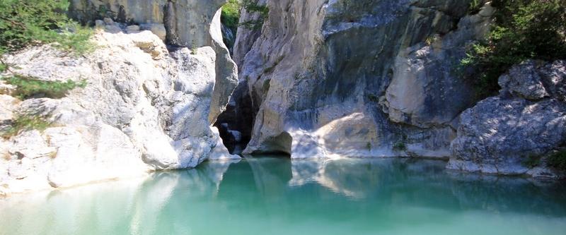 canyoning Verdon gorges du Riolan